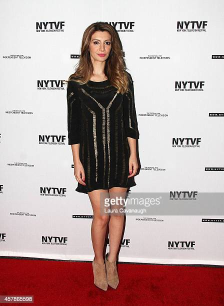 Nasim Pedrad attends Mulaney On Mulaney Or How I Learned To Stop Worrying And Love The ThreeCamera Sitcom at the 2014 New York Television Festival at...