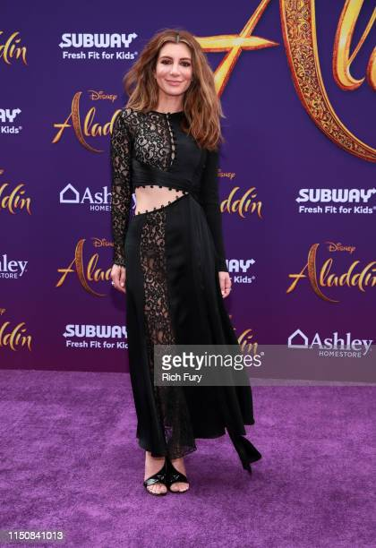 Nasim Pedrad attends the premiere of Disney's Aladdin on May 21 2019 in Los Angeles California
