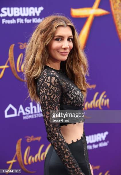 """Nasim Pedrad attends the World Premiere of Disney's """"Aladdin"""" at the El Capitan Theater in Hollywood CA on May 21 in the culmination of the film's..."""