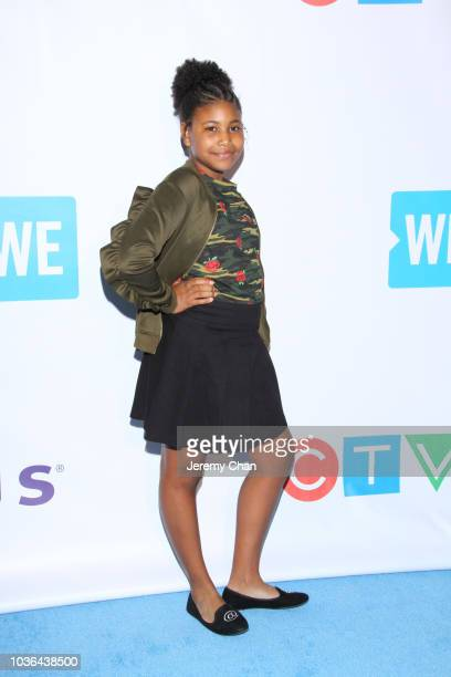 Nasir Andrews arrives to WE Day Toronto and the WE Carpet at Scotiabank Arena on September 20 2018 in Toronto Canada