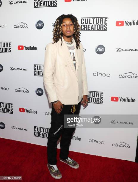 Nasir Dean attends the Culture Creators Innovators & Leaders Awards at The Beverly Hilton on June 26, 2021 in Beverly Hills, California.