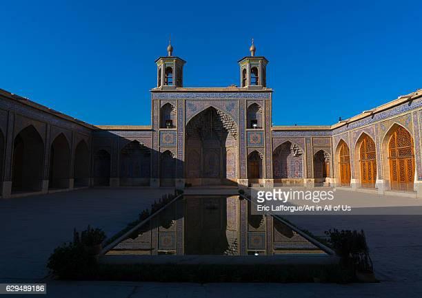 Nasir ol Molk mosque, Fars Province, Shiraz, Iran on October 17, 2016 in Shiraz, Iran.