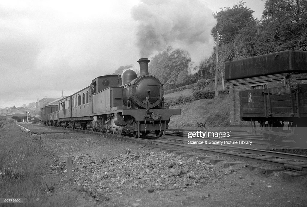 Nasmyth Wilson & Co loco for the County Donegal Railway, c 1930s. : News Photo