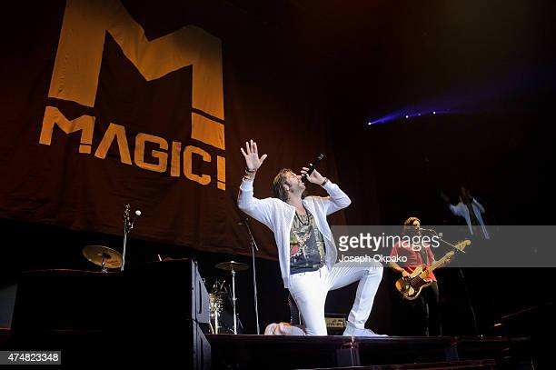 Nasri of Magic performs at Wembley Arena on May 26 2015 in London England