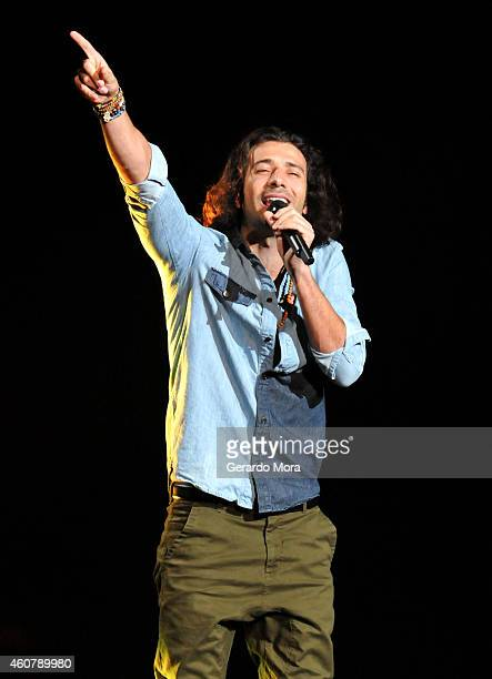 Nasri of Magic! performs onstage during 93.3 FLZ's Jingle Ball 2014 at Amalie Arena on December 22, 2014 in Tampa, Florida.