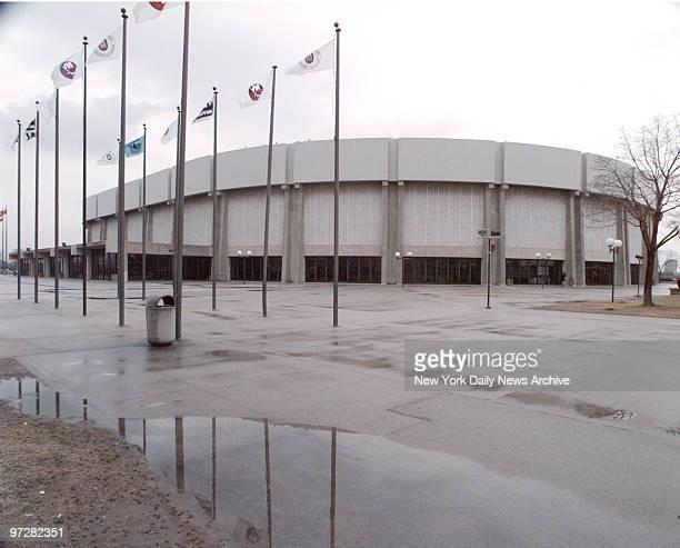 Nassau Coliseum in Uniondale, Long Island.