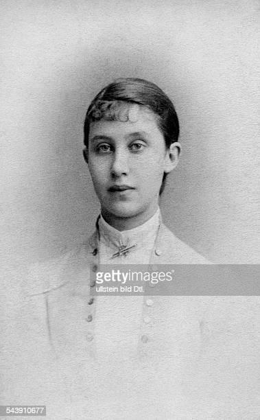 Nassau Princess Hilda of Grand Duchess of Baden*05111864 Photographer Josef Löwy Vintage property of ullstein bild