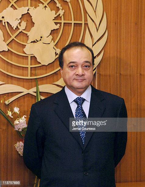 M Nasser AlKidwa Foreign Minister Palestinian Authority