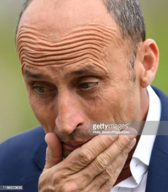 Nasser Hussain of Sky Sports after the First Test match between England and South Africa at SuperSport Park on December 29, 2019 in Centurion, South...