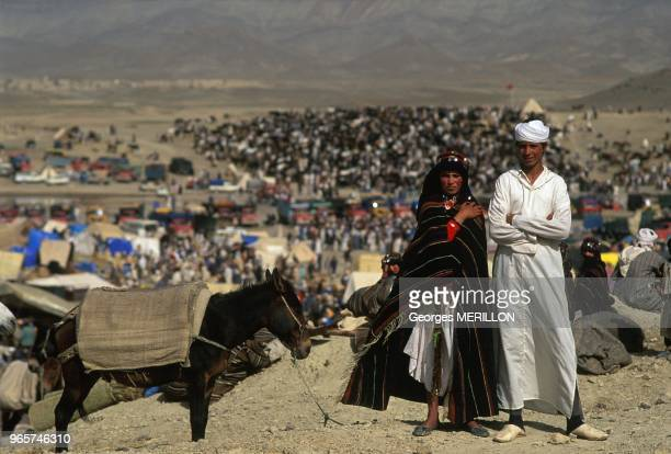 Nassera And Yusef At Imilchil Moussem Also Known As Engagement Market Symbol Of The Berber Culture Imilchil September 18 1990