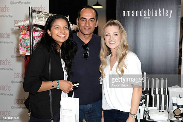 Nassiem Negahban and actor Navid Negahban attend Kari Feinstein's Style Lounge presented by LIFX on February 26 2016 in Los Angeles California