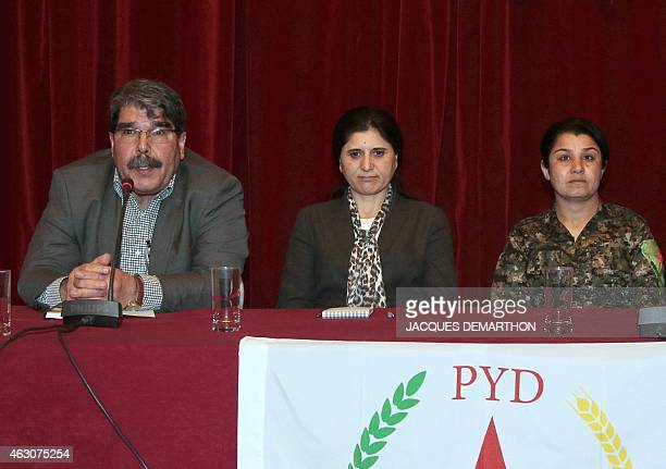Nassrin Abdallah a Kurdish woman who led one of the brigades that fought for the liberation of the Syrian town of Kobane from the Islamic State group...