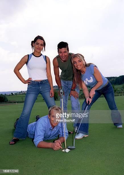 Nastasja Marinkovic Andreas Lebbing Albert Oberloher Iris Criens Musik Gruppe Wind Bad Abbach Homestory Golf Ballkorb Golfschläger...