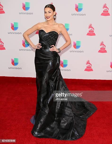 Nastassja Bolivar attends the 17th Annual Latin Grammy Awards on November 17 2016 in Las Vegas Nevada