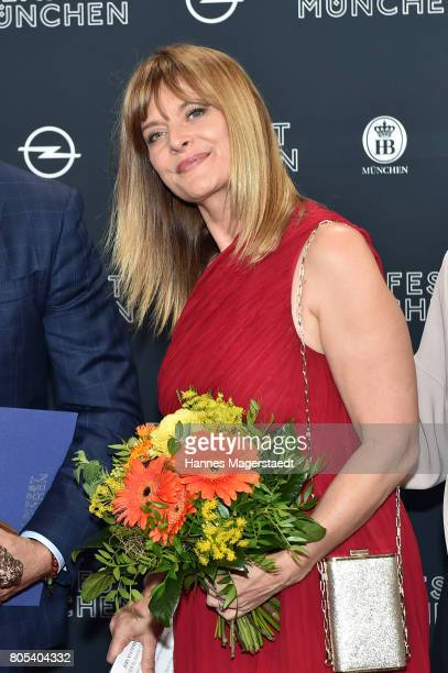 Nastassja Kinski aduring the premiere of 'Ihre Beste Stunde' as closing movie of Munich Film Festival 2017 at Gasteig on July 1 2017 in Munich Germany