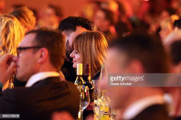 Nastassja Kinski and Ilja Russo during the 'Sportler des Jahres 2016' Gala at Kurhaus on December 18 2016 in BadenBaden Germany