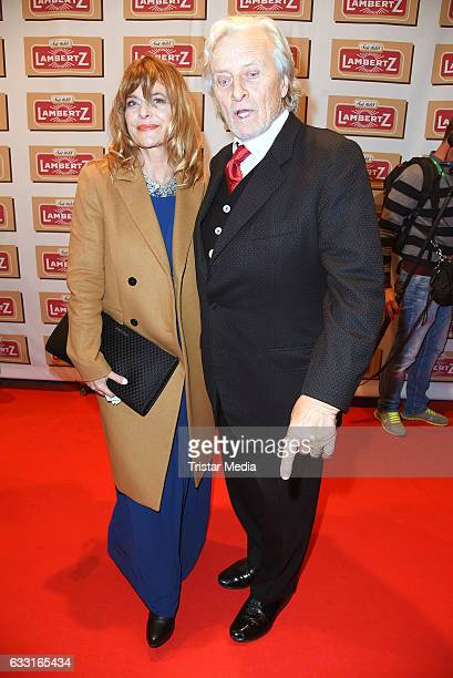 Nastassja Kinski and Rutger Hauer attend the 'Lambertz Monday Schoko Night 2017' on January 30 2017 in Cologne Germany