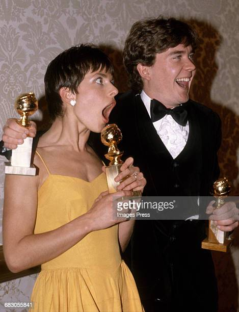 Nastassja Kinski and Timothy Hutton circa 1981 in Los Angeles California