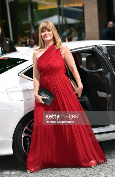 Nastassja Kinski arrives at the premiere of 'Ihre Beste Stunde' as closing movie of Munich Film Festival 2017 at Gasteig on July 1 2017 in Munich...