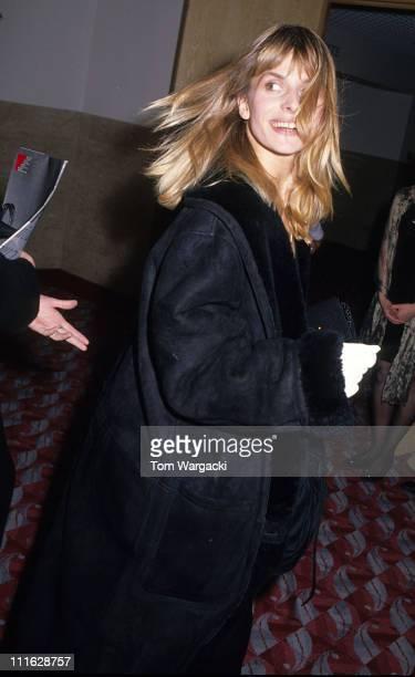 Nastassja Kinski at The European Film Awards during Nastassja Kinski at The European Film Awards December 6th 1990 in Glasgow Great Britain