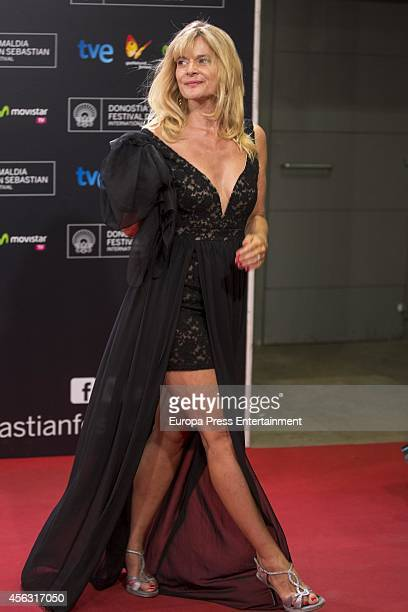 Nastassja Kinski Attends The 62nd San Sebastian International Film Festival Closing Ceremony At The Kursaal Palace