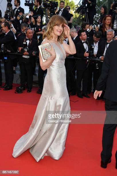 Nastassja Kinski attends the 70th Anniversary screening during the 70th annual Cannes Film Festival at Palais des Festivals on May 23 2017 in Cannes...