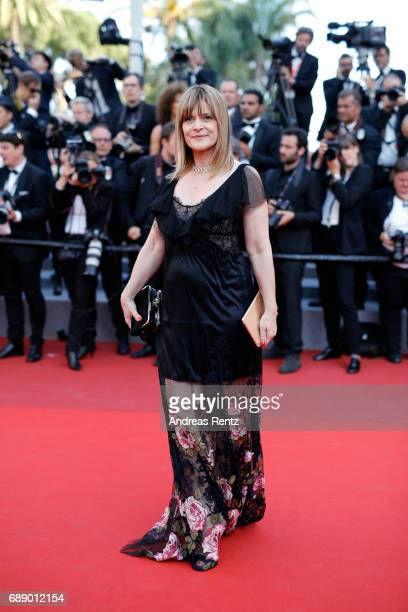 Nastassja Kinski attends the Based On A True Story screening during the 70th annual Cannes Film Festival at Palais des Festivals on May 27 2017 in...
