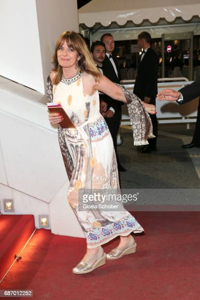 Nastassja Kinski attends the 'Happy End' screening during the 70th annual Cannes Film Festival at Palais des Festivals on May 22 2017 in Cannes France