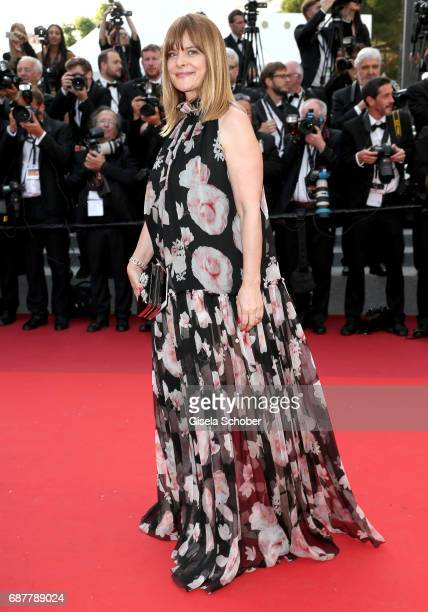 Nastassja Kinski attends the The Beguiled screening during the 70th annual Cannes Film Festival at Palais des Festivals on May 24 2017 in Cannes...