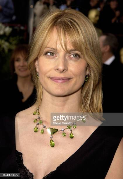Nastassja Kinski during The 74th Annual Academy Awards Arrivals at Kodak Theater in Hollywood California United States