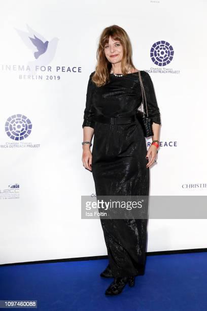 Nastassja Kinski during the Cinema For Peace International Committee Nominee Dinner at China Club on February 10 2019 in Berlin Germany