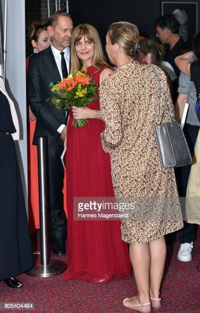 Nastassja Kinski during the premiere of 'Ihre Beste Stunde' as closing movie of Munich Film Festival 2017 at Gasteig on July 1 2017 in Munich Germany