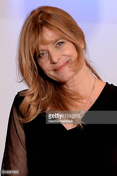Nastassja Kinski poses at a photo call for the television competition 'Let's Dance' on March 9 2016 in Cologne Germany On March 11th the show in...