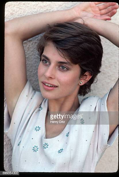 Nastassja Kinski With Hands Over Her Head