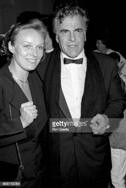 Nastassja Schell and Maximilian Schell attend PreOscar Party on March 25 1990 at L'Orangerie in Hollywood California