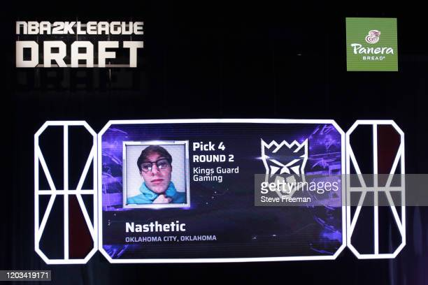Nasthetic gets picked during the NBA 2K League Draft on February 22 2020 at Terminal 5 in New York New York NOTE TO USER User expressly acknowledges...