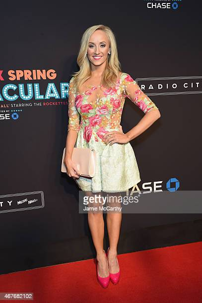Nastia Liukin attends the 2015 New York Spring Spectacular at Radio City Music Hall on March 26 2015 in New York City