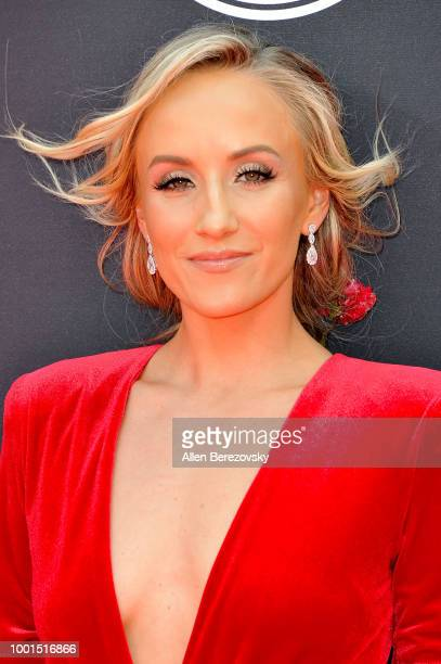 Nastia Liukin attends The 2018 ESPYS at Microsoft Theater on July 18 2018 in Los Angeles California