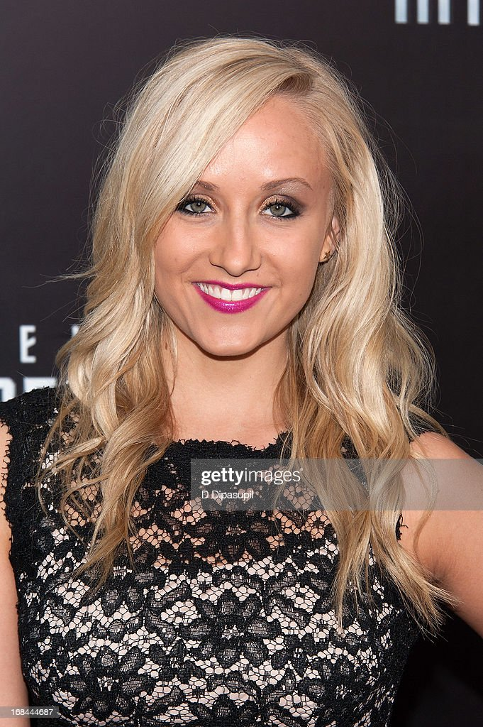 Nastia Liukin attends the 'Star Trek Into Darkness' screening at AMC Loews Lincoln Square on May 9, 2013 in New York City.