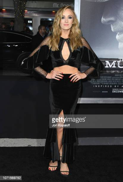 Nastia Liukin attends Warner Bros Pictures World Premiere Of The Mule at Regency Village Theatre on December 10 2018 in Westwood California
