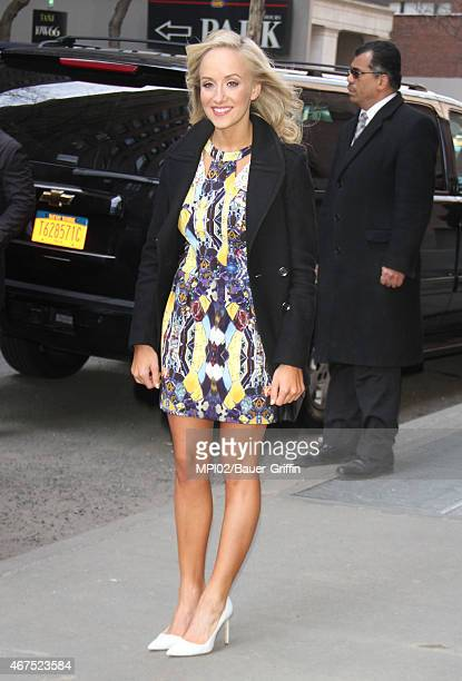 Nastia Liukin seen at ABC's The View on March 25 2015 in New York City