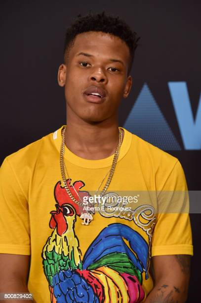 Nasty C at the 2017 BET Awards at Microsoft Square on June 25 2017 in Los Angeles California