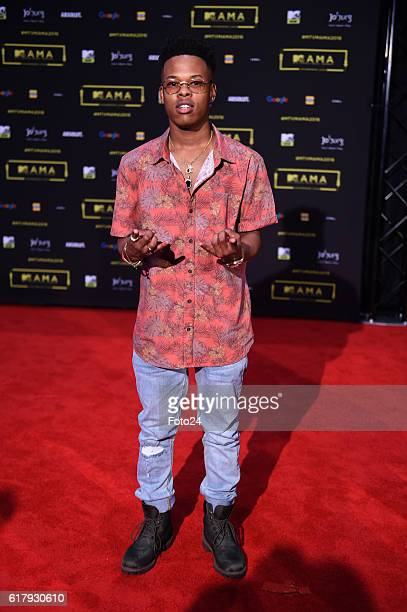 Nasty C during the 2016 MTV Africa Music Awards at the Ticketpro Dome on October 22 2016 in Johannesburg South Africa MTV Africa Music Awards is the...