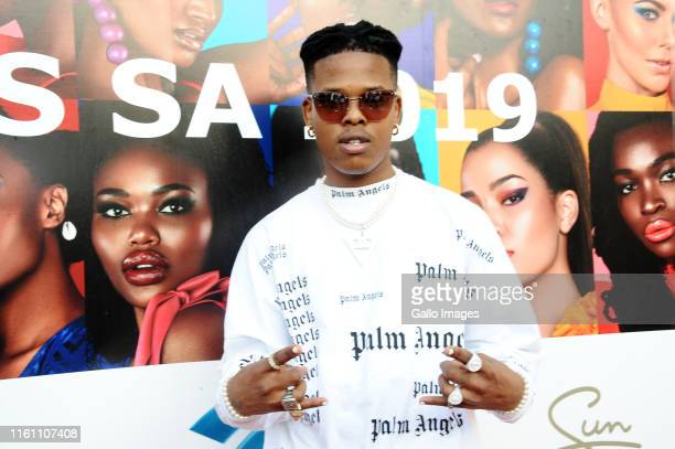 Nasty C during the Miss South Africa 2019 beauty pageant grand finale at the Time Square Sun Arena on August 09 2019 in Pretoria South Africa From...