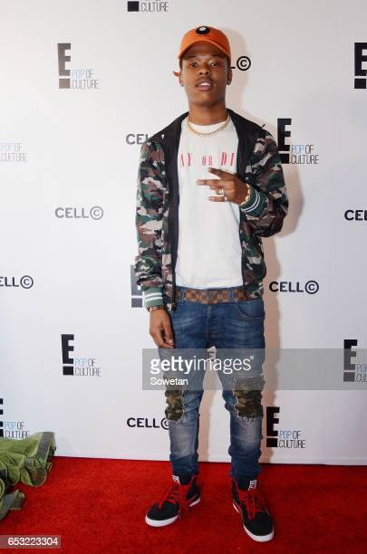 Nasty C during The Search E Host Africa at Taboo on March 09 2017 in Sandton South Africa Presenter Katleho Sinivasan became the first winner of E...