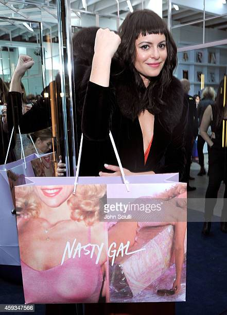 Nasty Gal Founder Sophia Amoruso attends the Nasty Gal Melrose Store Launch on November 20 2014 in Los Angeles California