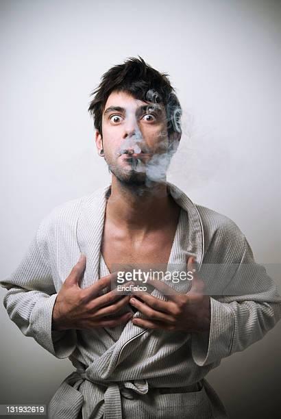 Nasty smoker's morning