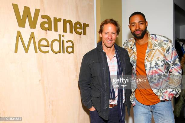 Nat Faxon and Jay Ellis attend the WarnerMedia and AT&T Sundance Kick-Off Party at Lateral on January 24, 2020 in Park City, Utah. 731296