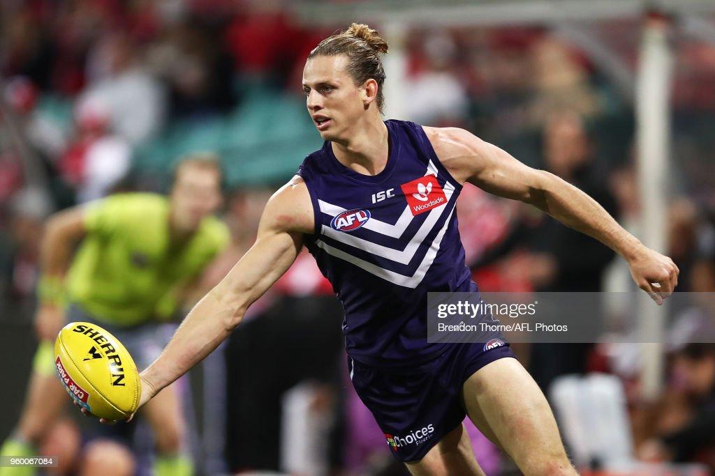AFL Rd 9 - Sydney v Fremantle : News Photo
