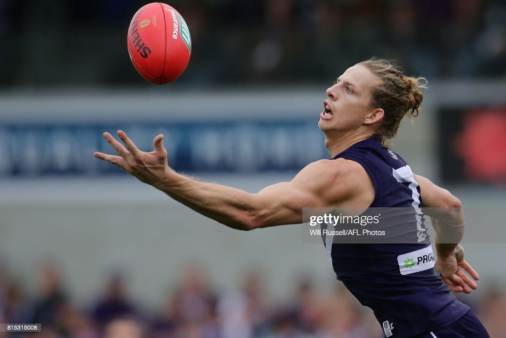 AFL Rd 17 - Fremantle v West Coast : News Photo
